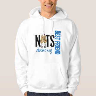 Nuts About My Best Friend 1 Blue Hoodie