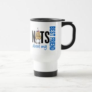 Nuts About My Best Friend 1 Blue Mugs
