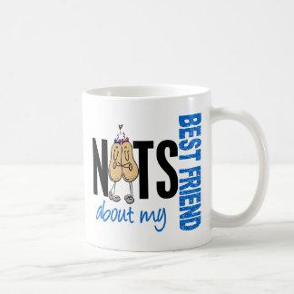Nuts About My Best Friend 1 Blue Mug