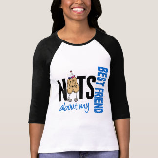 Nuts About My Best Friend 1 Blue Tees