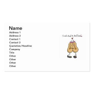 Nuts About My Best Friend T-shirts and Gifts Business Card