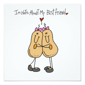 Nuts About My Best Friend T-shirts and Gifts Card