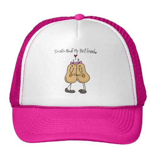 Nuts About My Best Friend T-shirts and Gifts Hat