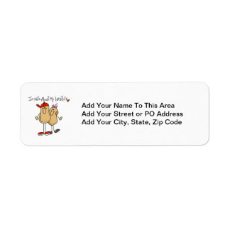 Nuts About My Brother T-shirts and Gifts Label