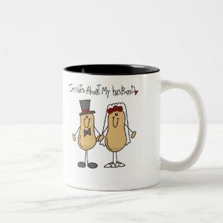 Nuts About My Husband Mug