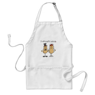 Nuts About My Husband T-shirts and Gifts Adult Apron