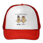 Nuts About My Husband T-shirts and Gifts Hats