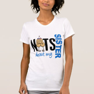 Nuts About My Sister 1 BLUE Tee Shirt
