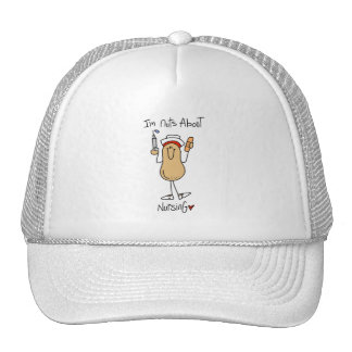 Nuts About Nursing T-shirts and Gifts Hats