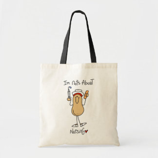 Nuts About Nursing T-shirts and Gifts Tote Bag