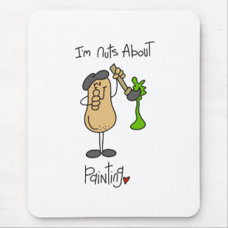 Nuts About Painting Mouse Pad