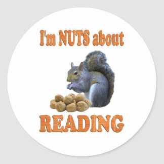 Nuts about Reading Stickers