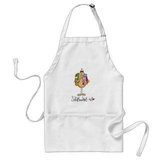 Nuts About Scrapbooking Adult Apron