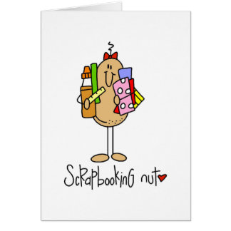 Nuts About Scrapbooking Stationery Note Card