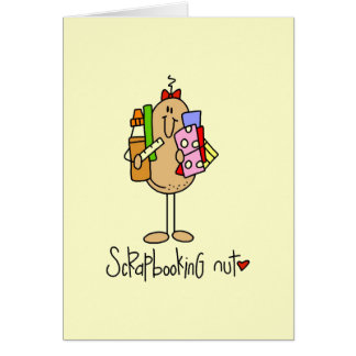 Nuts About Scrapbooking Greeting Card