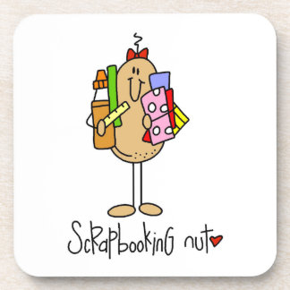 Nuts About Scrapbooking Drink Coasters
