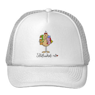 Nuts About Scrapbooking Trucker Hat