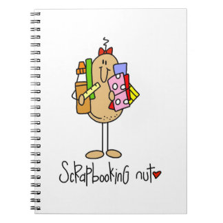 Nuts About Scrapbooking Note Book