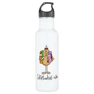Nuts About Scrapbooking 24oz Water Bottle