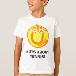 Nuts about tennis! Funny Tee Shirt