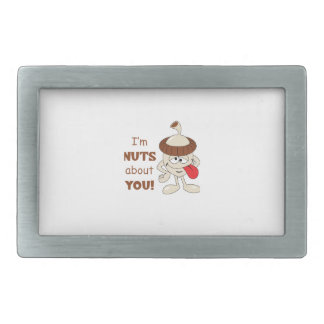 NUTS ABOUT YOU BELT BUCKLES