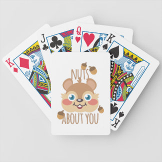 Nuts About You Bicycle Playing Cards