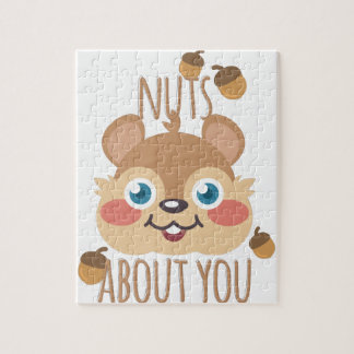 Nuts About You Jigsaw Puzzle