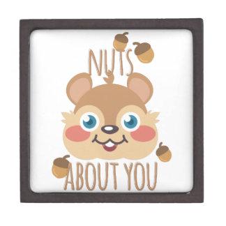 Nuts About You Keepsake Box