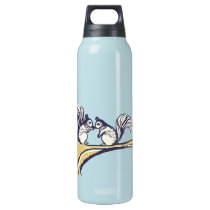 Nuts About You Squirrels Wedding Insulated Water Bottle