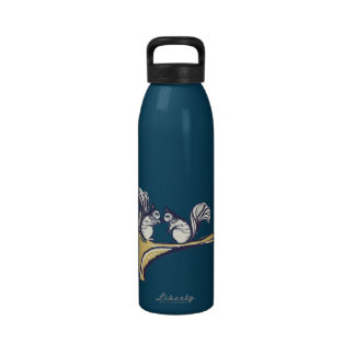 Nuts About You Squirrels Wedding Reusable Water Bottles