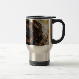 Nuts and Bolts and Rusty Metal Travel Mug
