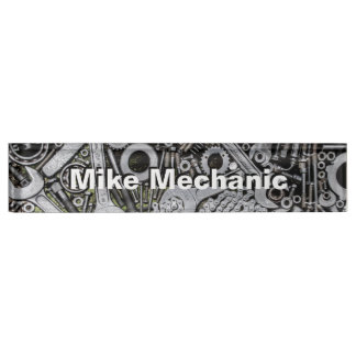 Nuts and Bolts Desk Name Plate