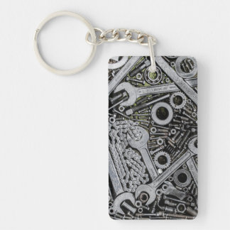 Nuts and Bolts Acrylic Key Chain