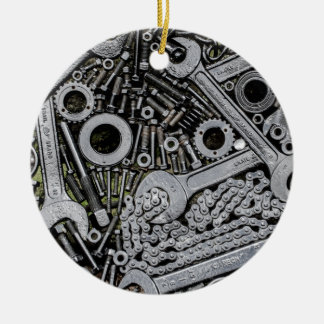 Nuts and Bolts Christmas Ornament