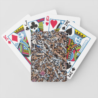 Nuts and Bolts Bicycle Poker Deck