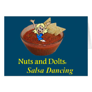 Nuts and Bolts: Salsa Dancing Card