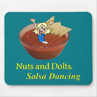 Nuts and Bolts: Salsa Dancing Mouse Pad