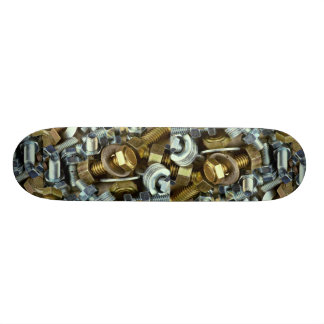 Nuts and bolts skate board decks