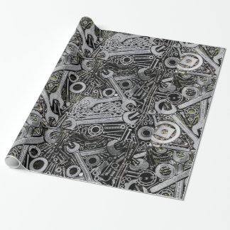 Nuts and Bolts Wrapping Paper