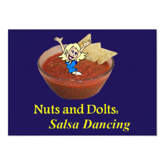 Nuts and Dolts: Salsa Dancing Card