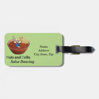 Nuts and Dolts: Salsa Dancing Luggage Tag