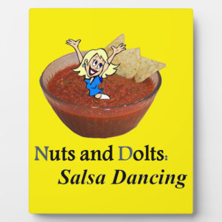 Nuts and Dolts: Salsa Dancing Plaque