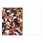 Nuts and raisins large business cards (Pack of 100)