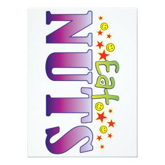 Nuts Eat 5.5x7.5 Paper Invitation Card