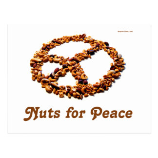 Nuts for Peace Postcard