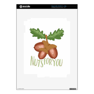 Nuts For You Skins For iPad 2