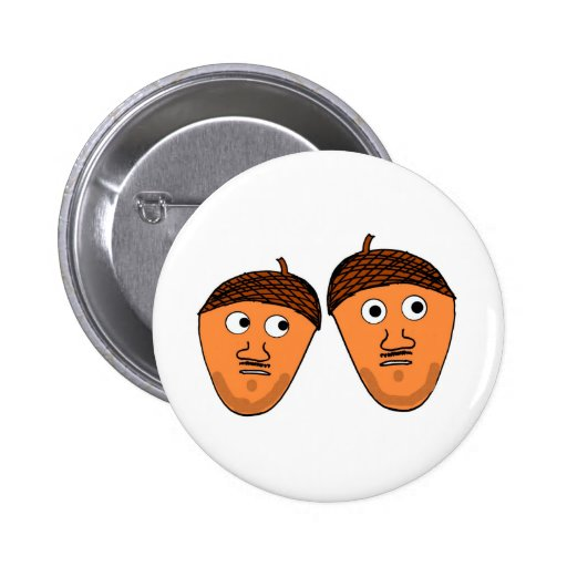 Nuts have gone nuts pinback buttons