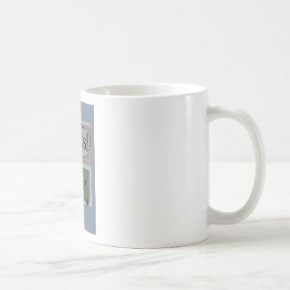 nuts classic white coffee mug
