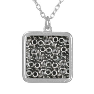 Nuts Silver Plated Necklace