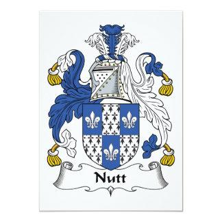 Nutt Family Crest Card